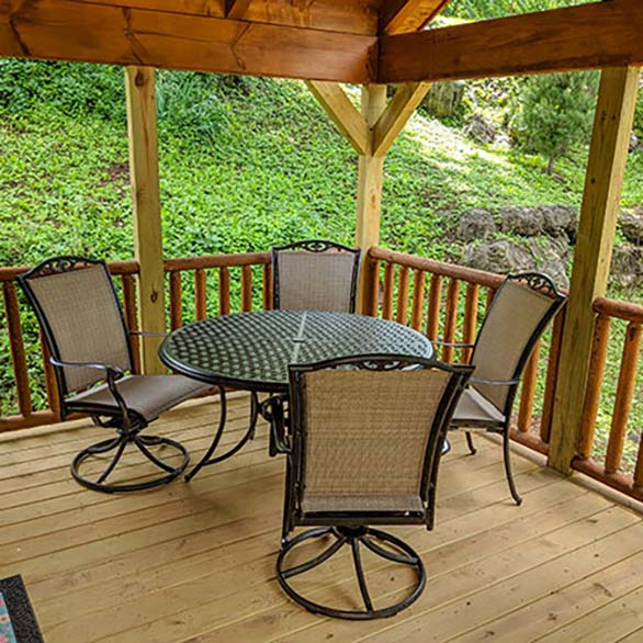 Furnished Porch Cabins